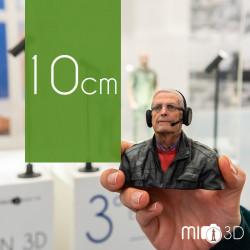 Tarjeta Regalo Busto 3D 10 cm