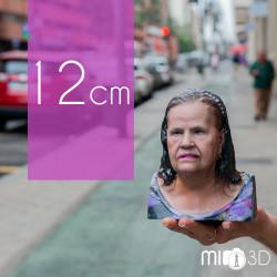 Tarjeta Regalo Busto 3D 12 cm