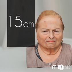 Tarjeta Regalo Busto 3D 15 cm